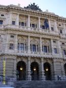Palazzo di Giustizia from Piazza Cavour