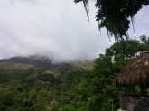 Gunung Inerie from Kampung Traditional Bena